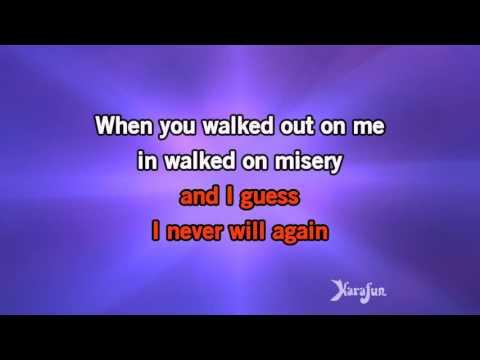 Karaoke Since I Don't Have You - Guns N' Roses *