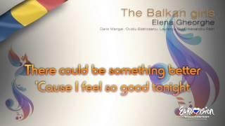 "Elena Gheorghe - ""The Balkan Girls"" (Romania) - [Karaoke version]"
