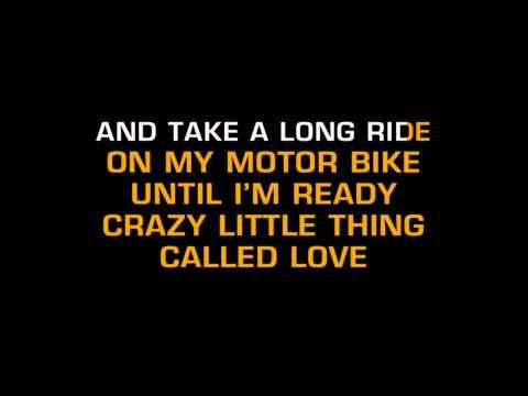 Queen - Crazy Little Thing Called Love (Karaoke)