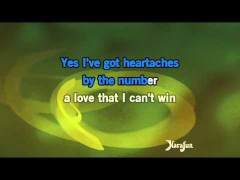 Karaoke Heartaches By The Number - Guy Mitchell *