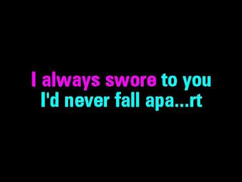 Fall For You Secondhand Serenade Karaoke - You Sing The Hits
