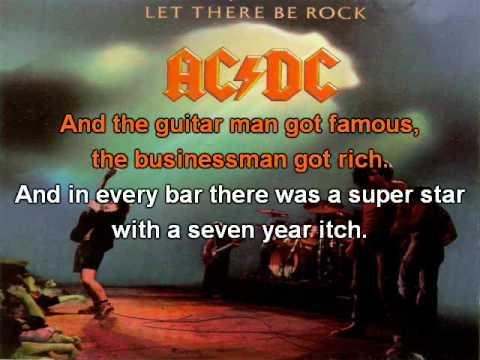 AC/DC - Let There Be Rock (Official Karaoke/Instrumental