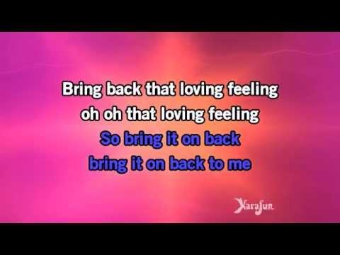Karaoke You've Lost That Loving Feeling - The Overtones *