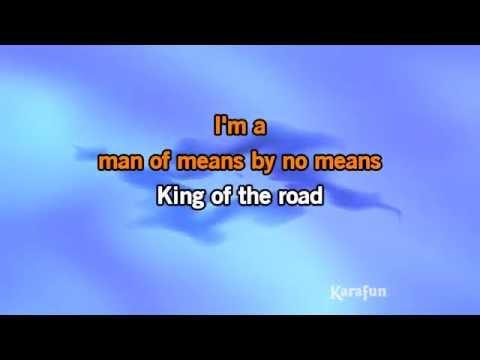 Karaoke King Of The Road - Randy Travis *