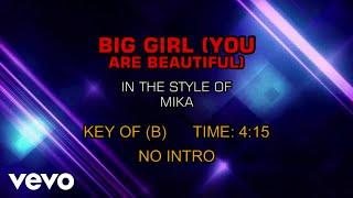 MIKA - Big Girl (You're Beautiful) Karaoke