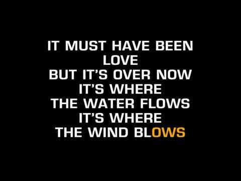 Roxette - It Must Have Been Love (Karaoke)