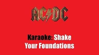 Karaoke: AC/DC / Shake Your Foundations