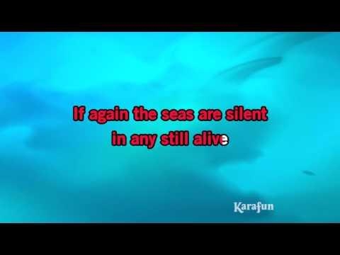Karaoke Here Comes The Flood - Peter Gabriel *