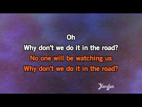 Karaoke Why Don't We Do It In The Road? - The Beatles *