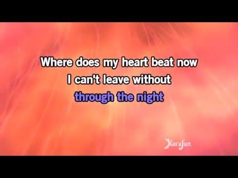 Karaoke Where Does My Heart Beat Now - Céline Dion *