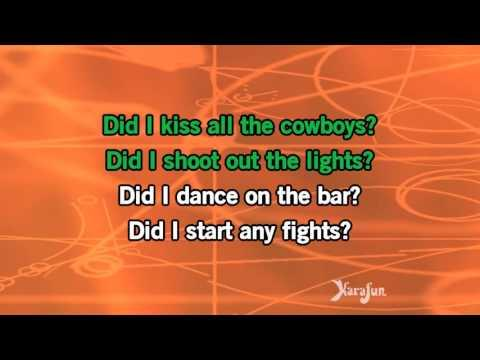 Karaoke Jose Cuervo - Shelly West *