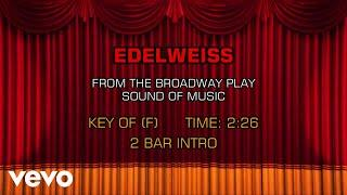 The Sound of Music - Edelweiss (Karaoke)