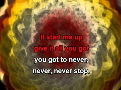 Start Me Up, With Lyrics - The Rolling Stones Karaoke