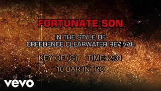 Creedence Clearwater Revival - Fortunate Son (Karaoke)
