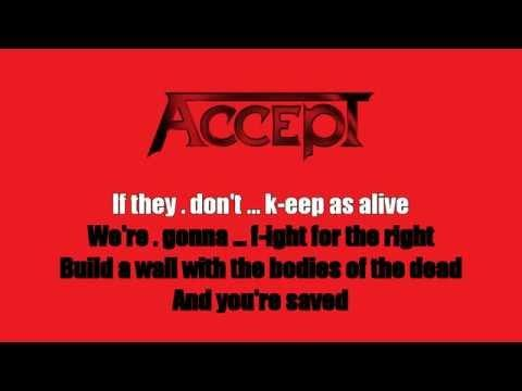 Karaoke: Accept / Balls To The Wall