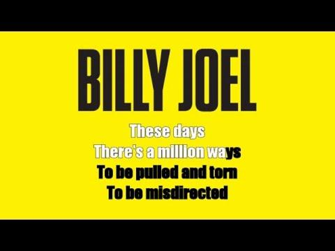 Karaoke: Billy Joel / Blonde Over Blue