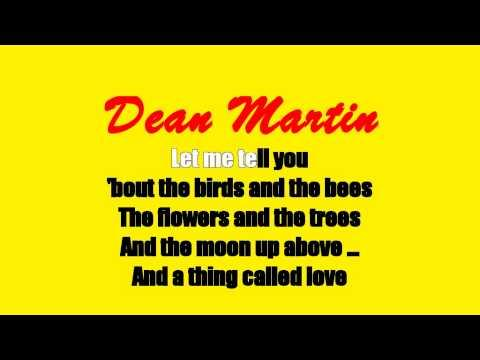 Karaoke: Dean Martin / The Birds And The Bees