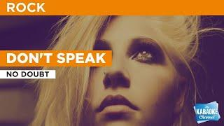Don't Speak : No Doubt | Karaoke with Lyrics