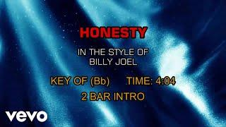Billy Joel - Honesty (Karaoke)