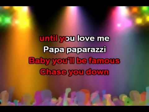 Paparazzi, Lyrics - Lady Gaga Karaoke