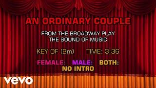 The Sound of Music - An Ordinary Couple (Karaoke)