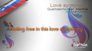 "Quartissimo feat. Martina - ""Love Symphony"" (Slovenia) - [Karaoke version]"