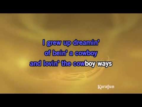 Karaoke My Heroes Have Always Been Cowboys - Willie Nelson *