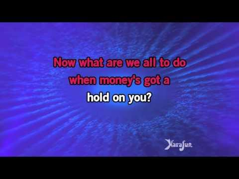 Karaoke Money's Too Tight (To Mention) - Simply Red *