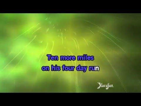 Karaoke Eighteen Wheels And A Dozen Roses - Nathan Carter *
