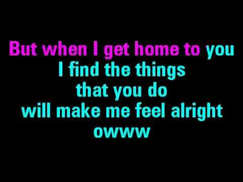 A Hard Day's Night Karaoke The Beatles - You Sing The Hits