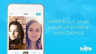 Yokee: Sing with the Stars – Gabriella x Camile – 'Zombie' Duet