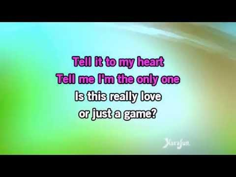 Karaoke Tell It To My Heart - Taylor Dayne *
