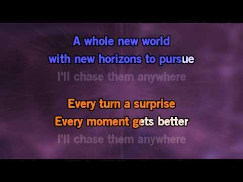 Karaoke A Whole New World (The Musical - Broadway Musical) - Aladdin *