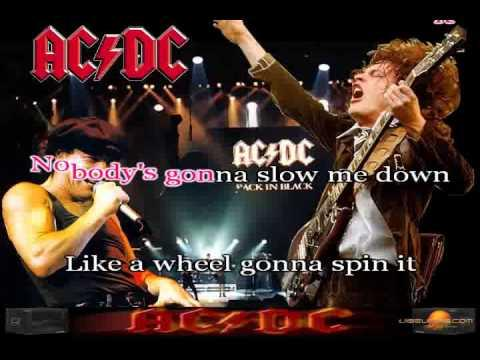 AC-DC Karaoke- Highway To Hell